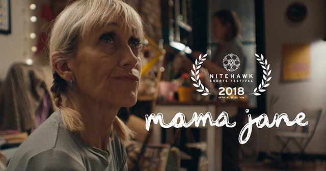 @mamajanefilm is screening Nov 12th at the Nitehawk Short Film Festival! I remember when Nitehawk first opened its doors around the corner from me in Williamsburg. It was a magical place as a brand new film school graduate- offering great films, drinks in theater, and I didn't have to leave Brooklyn. This one is super special to me- thanks so much @nitehawkcinema and all the amazing women who made this happen 💕🎥🎞
