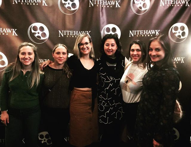 Thank you so much @nitehawkcinema for having us. We were so honored to represent one film out of a very high percentage of women lead shorts at this festival. Keep doing what you're doing. I hope to be back soon. I think I speak for everyone when I say @mamajanefilm & entire crew loved being a part of this festival.