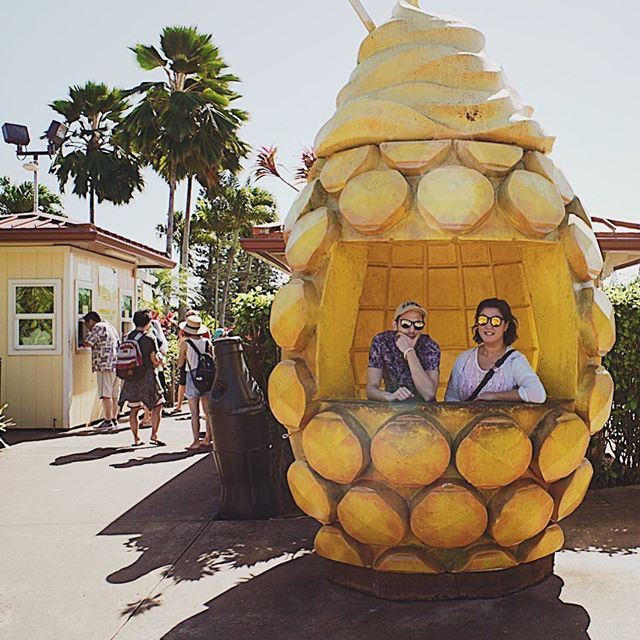 There's always money in the pineapple stand. 🍌🌴💸