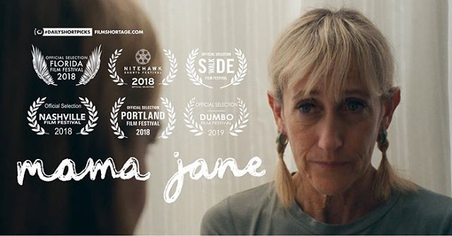 Mama Jane is premiering today on the world wide web! You can find it featured on @filmshortage or via the link in my bio 🙃  If you would like a laugh, or a cry, or some polarizing opinions on shrimp I highly suggest giving this short a watch. 🍤  Again, thank you from the bottom of my heart to everyone who helped make this film come to life.  I feel very lucky to have worked with such a talented group of people who invested so much time, hard work, and heart into this movie. Thank you for trusting me to tell this story.  Most of all I am so very happy that I got to meet a bunch of your Moms 💕 @theheiser @leahdberg @sarah.donnenberg @kvanskiver  Cheers & shower beers! 🍻🚿