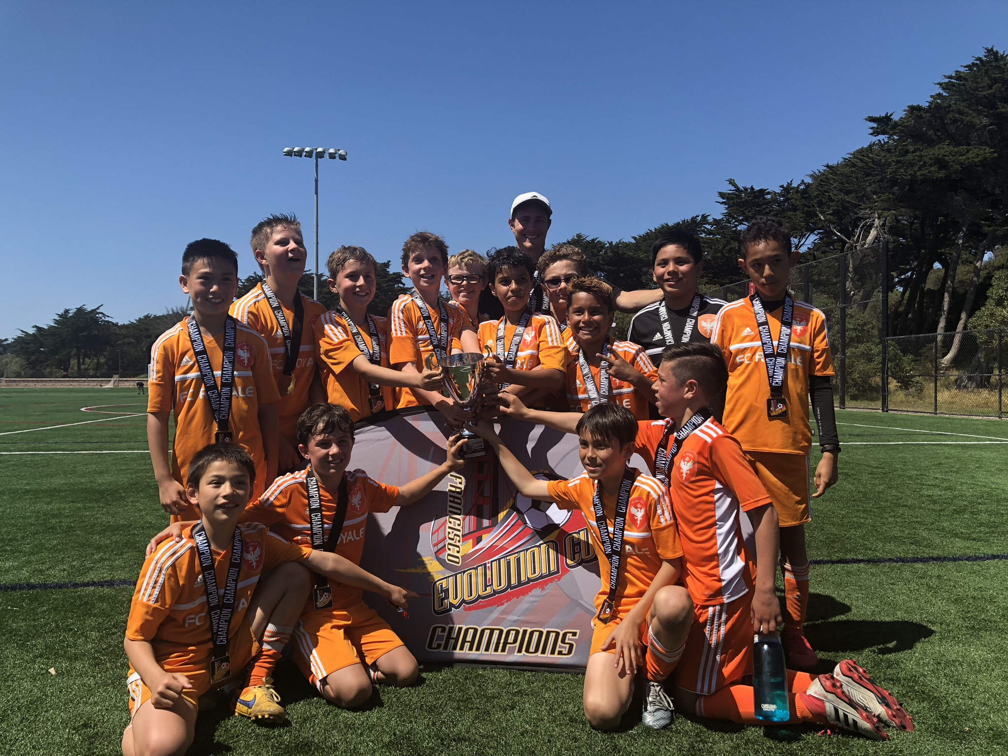 07B Orange win the SF Evolution Cup, May 2018