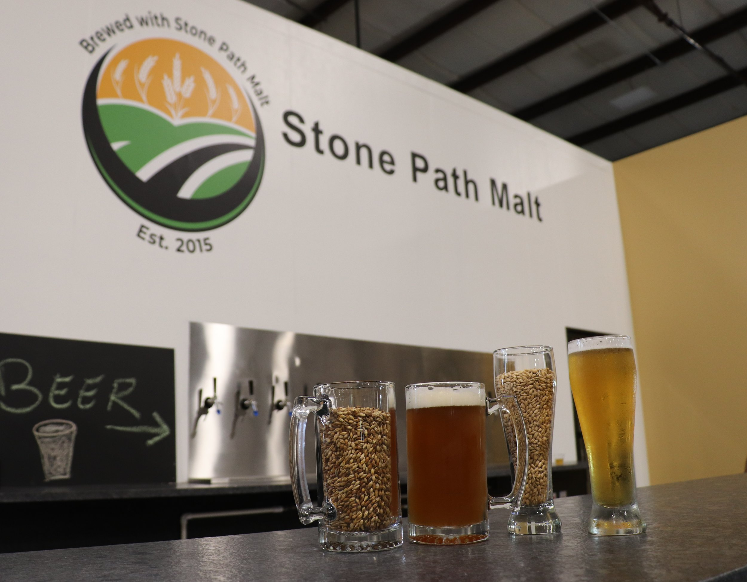 Stone Path Malt - While we love all the pop-up breweries throughout the city this summer, we are pretty excited to venture out of the city for Stone Path Malt's Oktoberfest celebrations at the end of the month. The new Maltery is perfect for beer connoisseurs, families, or if you're just looking for a cold one! The taproom has some local New England craft favorites, and for Oktoberfest weekend they'll be plenty of food, games, and beer on tap for all! Prost! - JJ