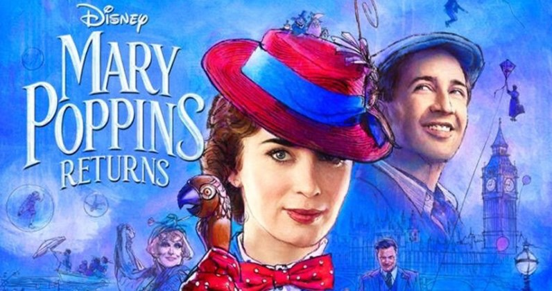 "Mary Poppins Returns - Get your popcorn ready! One of our favorite childhood movies is coming back to the big screen on December 19th and we can't wait! Mary Poppins Returns, the sequel to Mary Poppins, which takes place 20 years after the original, has Emily Blunt playing Mary Poppins and Dick Van Dyke, the original ""Bert"" coming back, but playing Mr. Dawes Jr. this time around. Cosmopolitan published this fun slideshow showing us what the new cast looks like next to their original counterparts. - JGW"