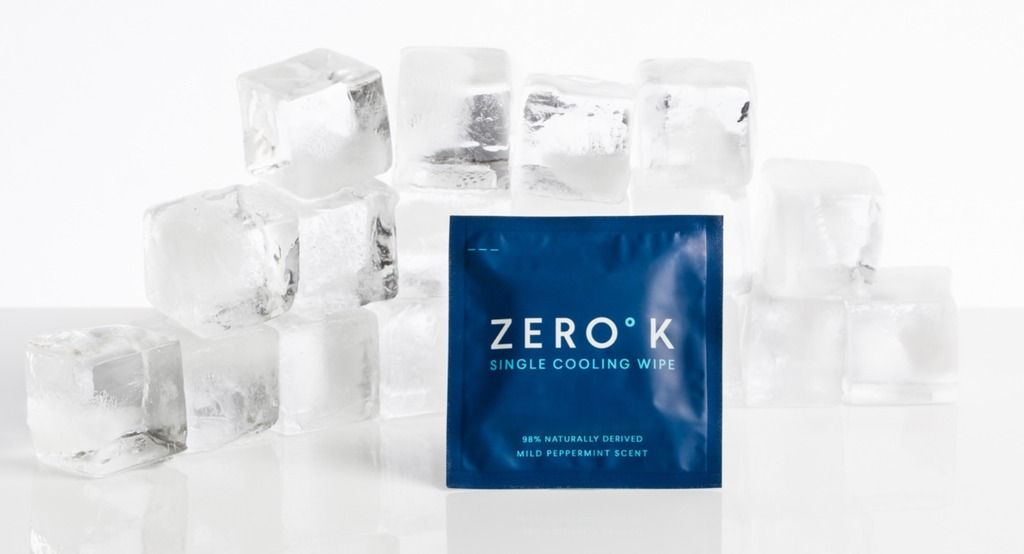 Cool Down & Towel Off with Zero K - While we're busy running around the city, whether it's in-between meetings or trying to cool off after a workout, Zero K Wipes have come to our rescue to help us chill out. These individually wrapped towelettes distribute a cooling and cleansing formula, made from 98% natural ingredients, and contain a refreshing peppermint scent. We keep one on us at all times, especially during these summer months when the city is extra toasty. Between these, and our Aperol Spritz' we're staying super refreshed all summer long.