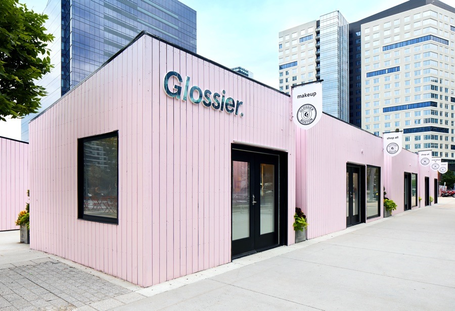 "Glossier Boston - Boston's newest pop-up, Glossier has finally opened and we are ready to try out all of their must-have products. You can't miss the signature pink shop located at 85 Northern Ave in the Seaport District. The shop is separated into smaller houses where you can find all of your beauty essentials, along with exclusive new Boston merchandise. The Glossier pop-up will be located here until October 4th, and is open everyday from 11 am - 7pm. We definitely plan on stopping in and stocking up; it's our own version of ""back to school"" shopping!"