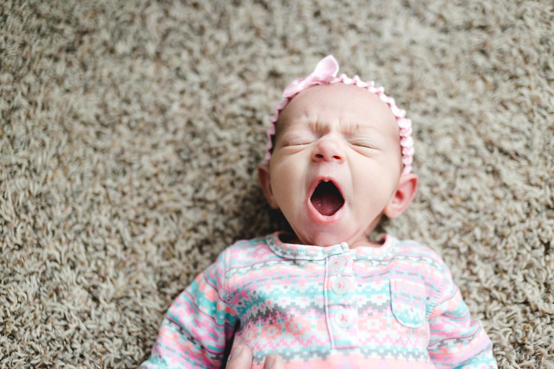 Newborn Lifestyle Photography-Baby Yawn-Manhattan KS.jpg
