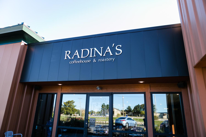 Radina's Coffee House, Manhattan, Kansas. Captured by Renee McDaniel, documentary and lifestyle photographer with Renee McDaniel Photography