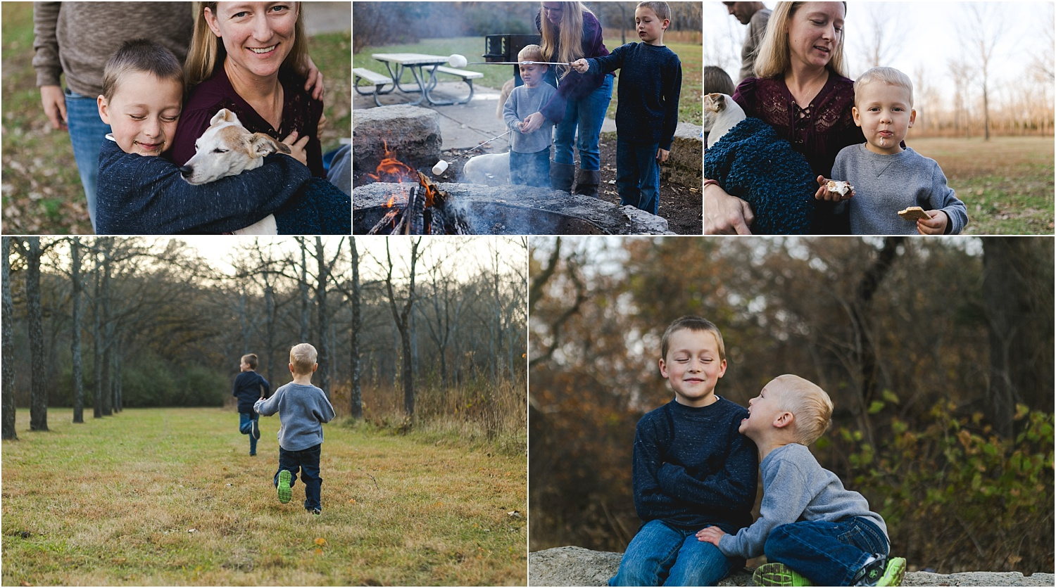 Family Lifestyle and Documentary Photography-family snuggling-Wildcat Park-Manhattan Kansas