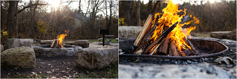 Family Lifestyle and Documentary Photography-firepit-Wildcat Park-Manhattan Kansas