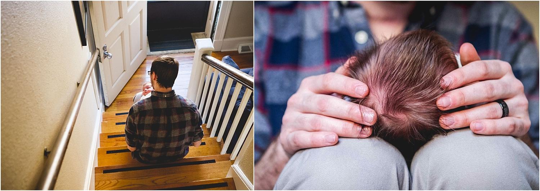 Best Documentary and In Home Lifestyle Newborn Photography in Manhattan Kansas