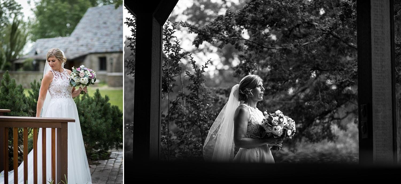 Intimate-Wedding-Photography-Bridal-PortrIaits-outside-gazebo-Timmons-Chapel-Pittsburg-KS