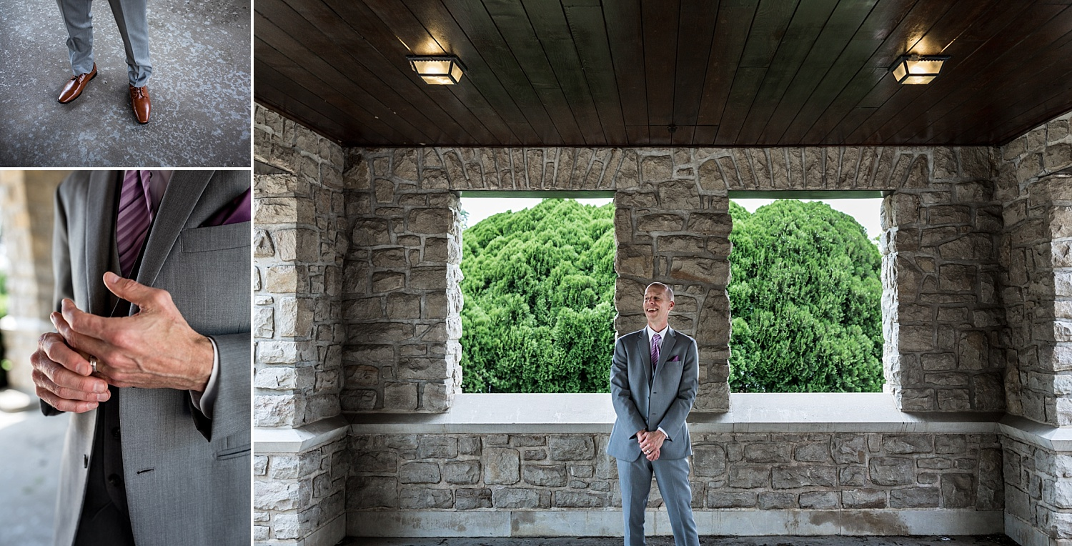 Intimate-Wedding-Photography-Groom-PortrIaits-Details-Timmons-Chapel-Pittsburg-KS