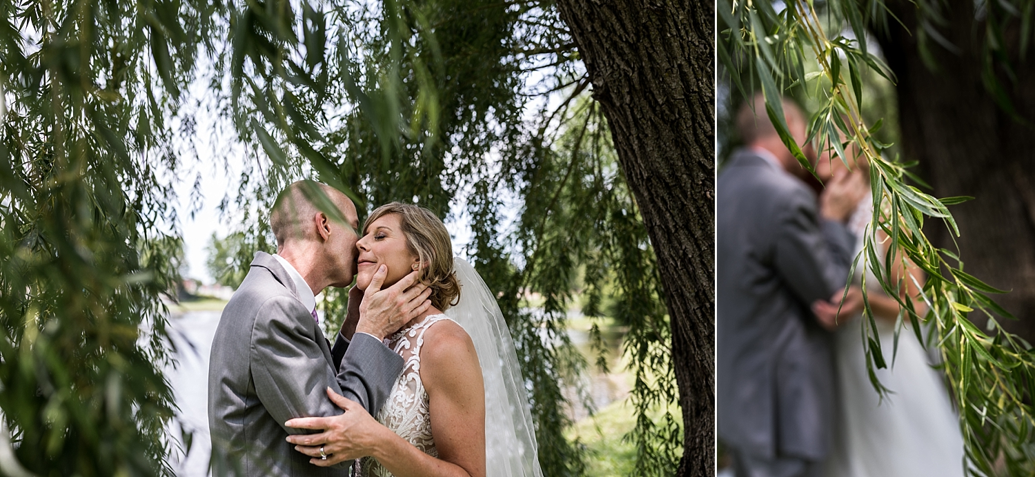 Intimate-Wedding-Photography-Mature-Bride-Groom-Portraits-private-moment-Timmons-Chapel-Pittsburg-KS