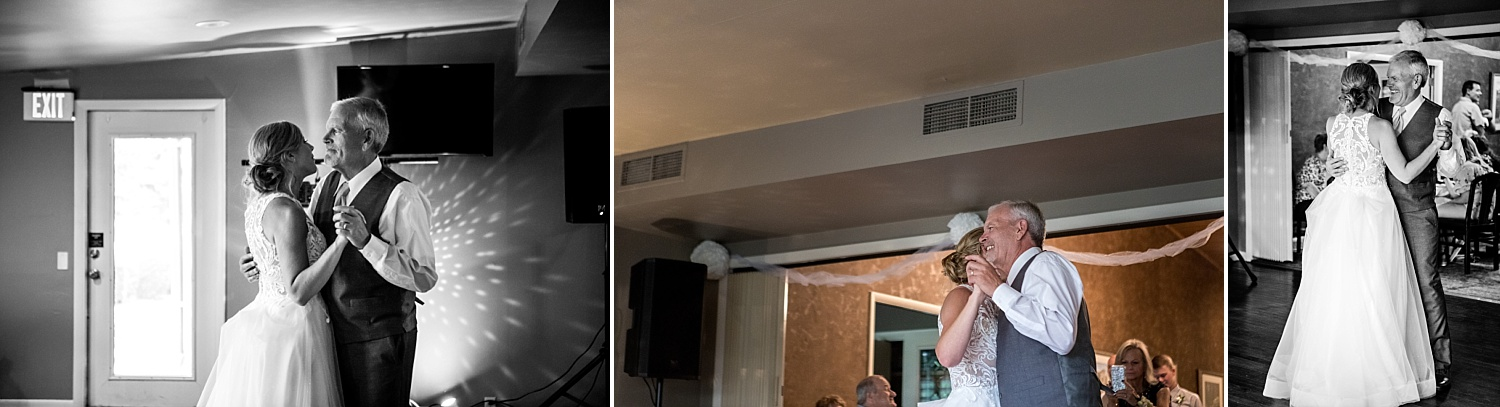 Intimate-Wedding-Photography-reception-father-daughter-dance-Crestwood-Country-Club-Pittsburg-KS