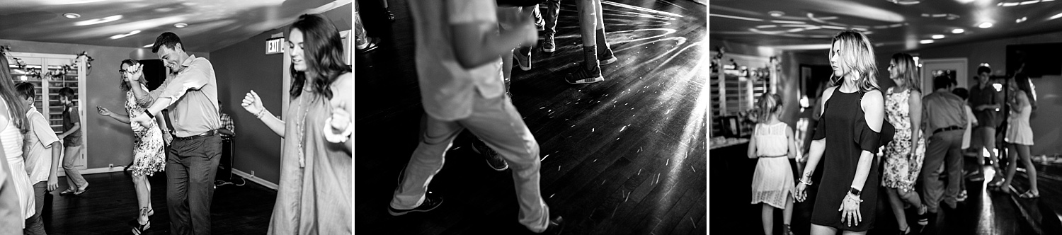 Intimate-Wedding-Photography-reception-guests-dancing-Crestwood-Country-Club-Pittsburg-KS
