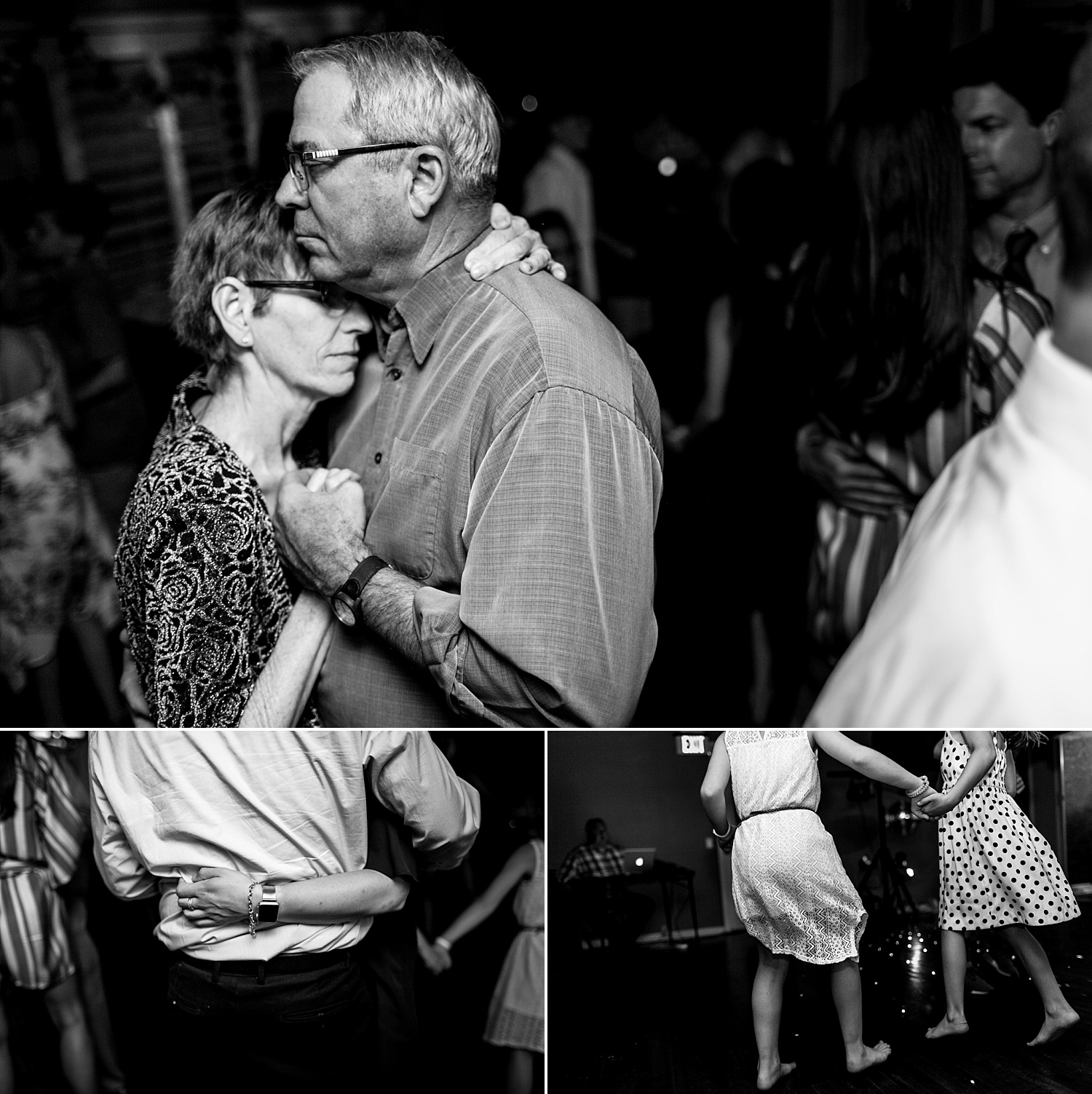 Intimate-Wedding-Photography-reception-guest-dance-details-Crestwood-Country-Club-Pittsburg-KS