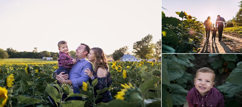 Fall-Family-Photo-Sunflower-Mini-Session-Family-of-three-Britts-Farm-Manhattan-KS