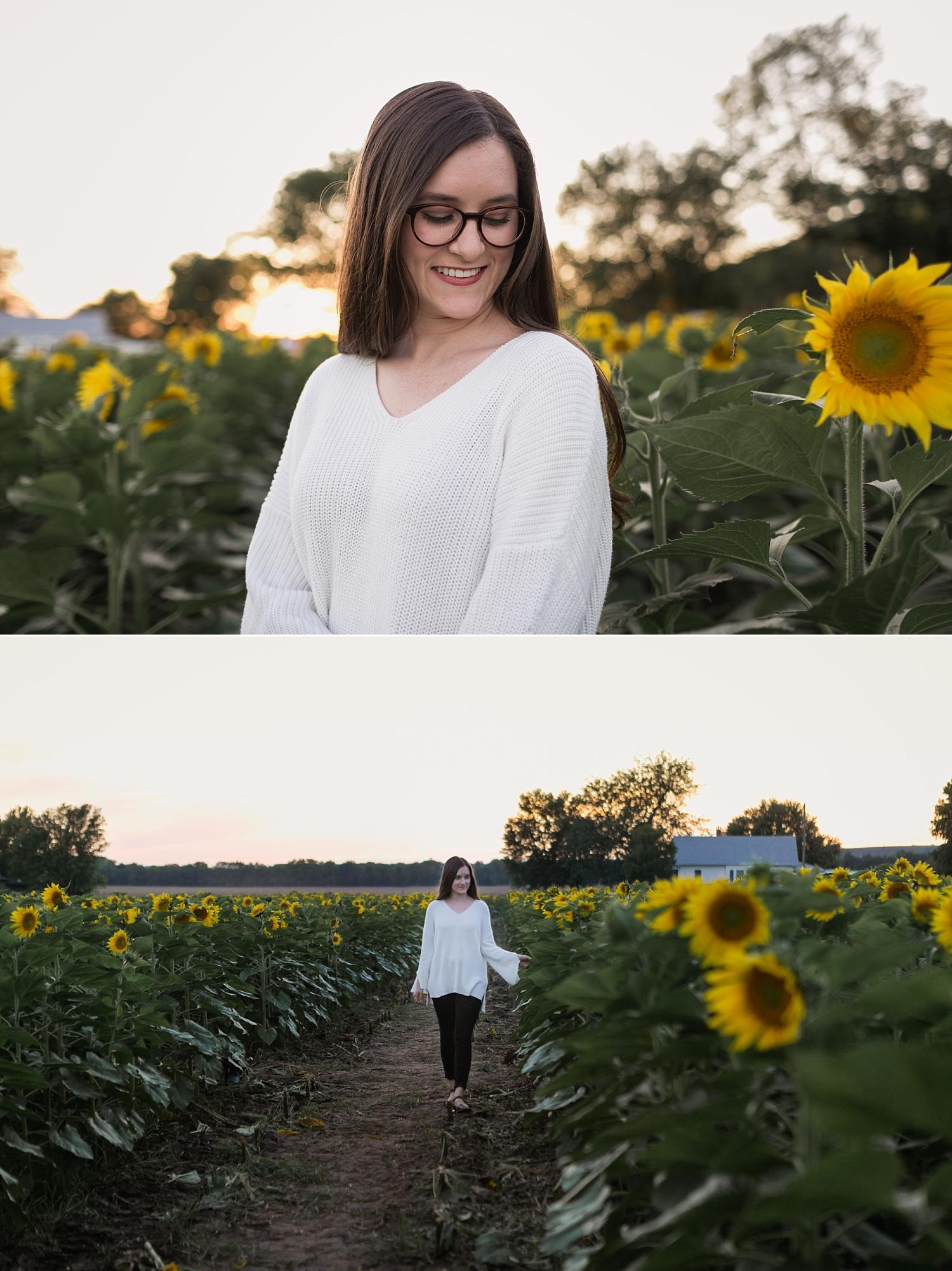 Sunflower-Photography-High-School-Mini-Session-Britts-Farm-Manhattan-KS