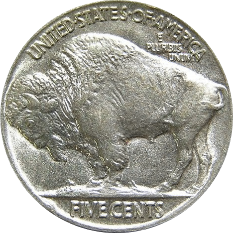 US National Archives US Nickel, 1913