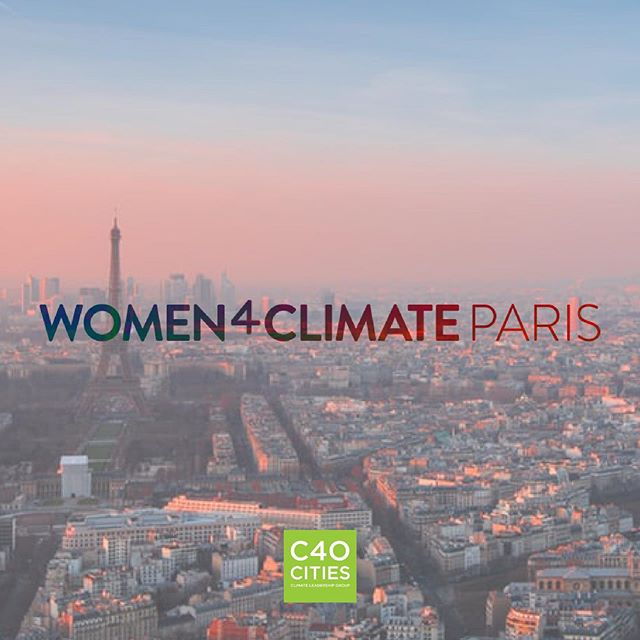 We are so thrilled to announce that our founder @embalio has been selected to join the @c40cities #Women4Climate Mentorship Program in Paris, France!  The program matches mayors, city officials, and leaders from businesses or organizations with emerging women leaders to develop a project related to #ClimateChange.  You guessed it: Emilie's project is Climate Communicators. We are so excited to see how CC will grow as part of this Women4Climate initiative.  Learn more: w4c.org. #TheFutureWeWant #ClimateAction