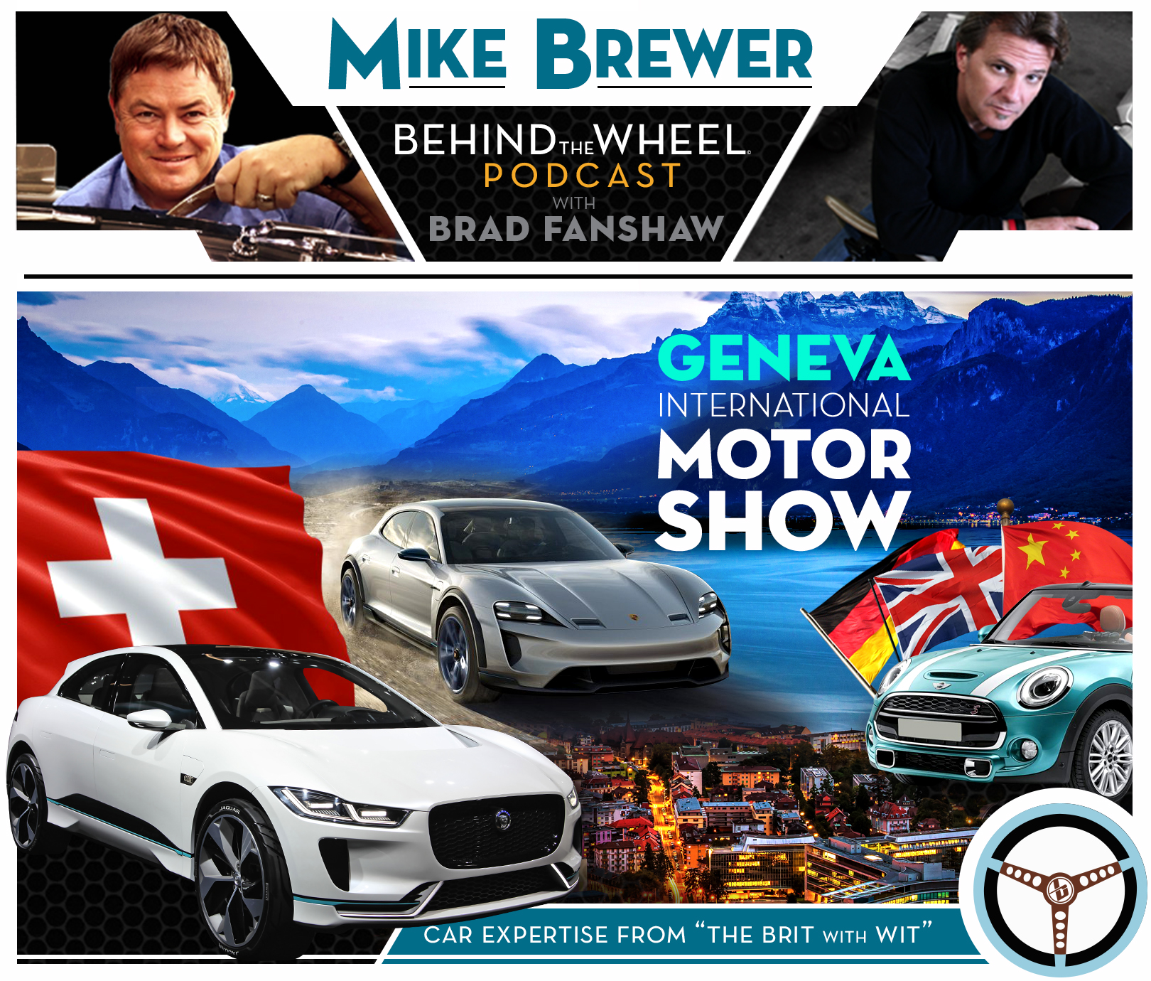How To Buy Cars At Auction >> Podcast Mike Brewer Behind The Wheel Podcast