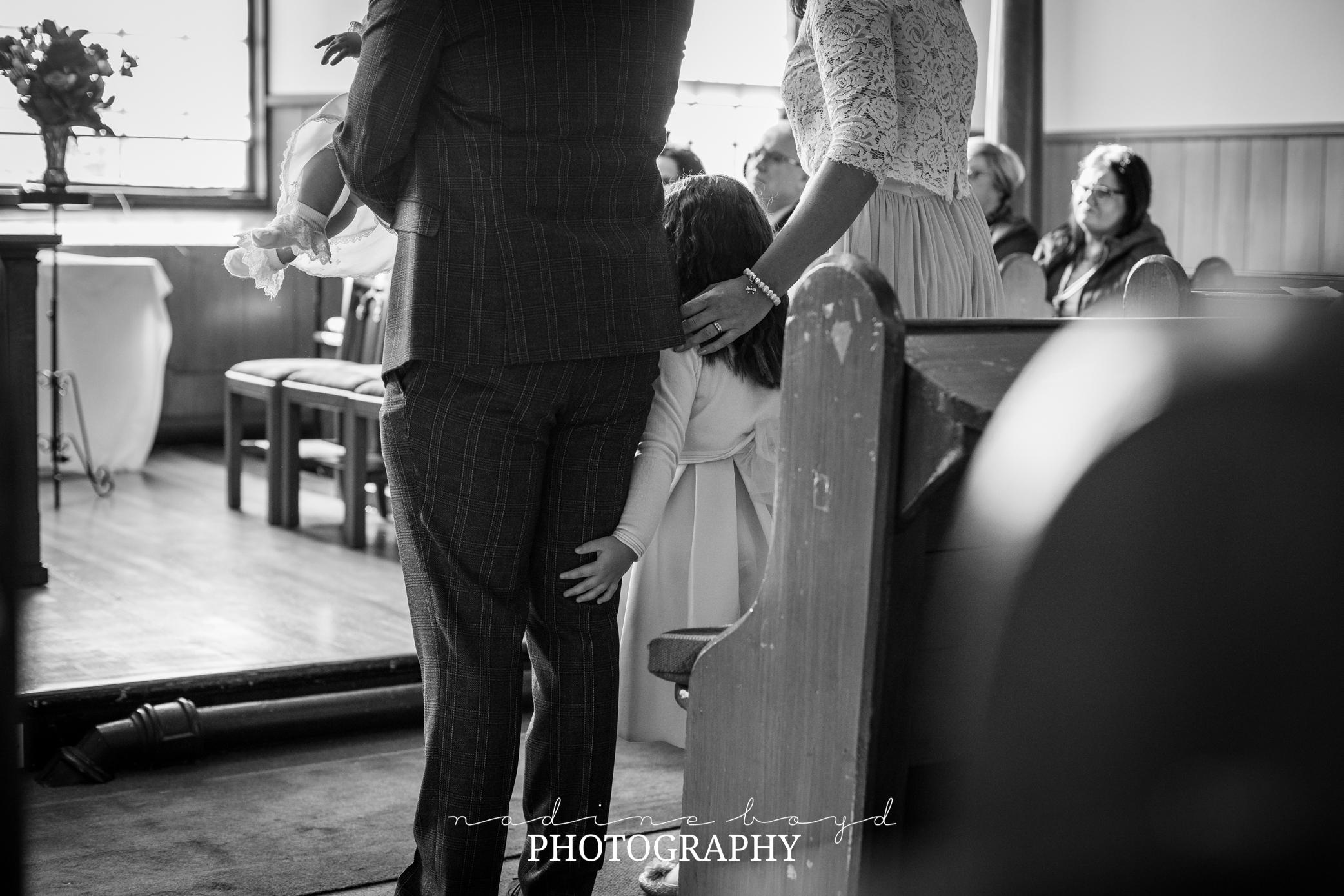 Family christening Bearsden