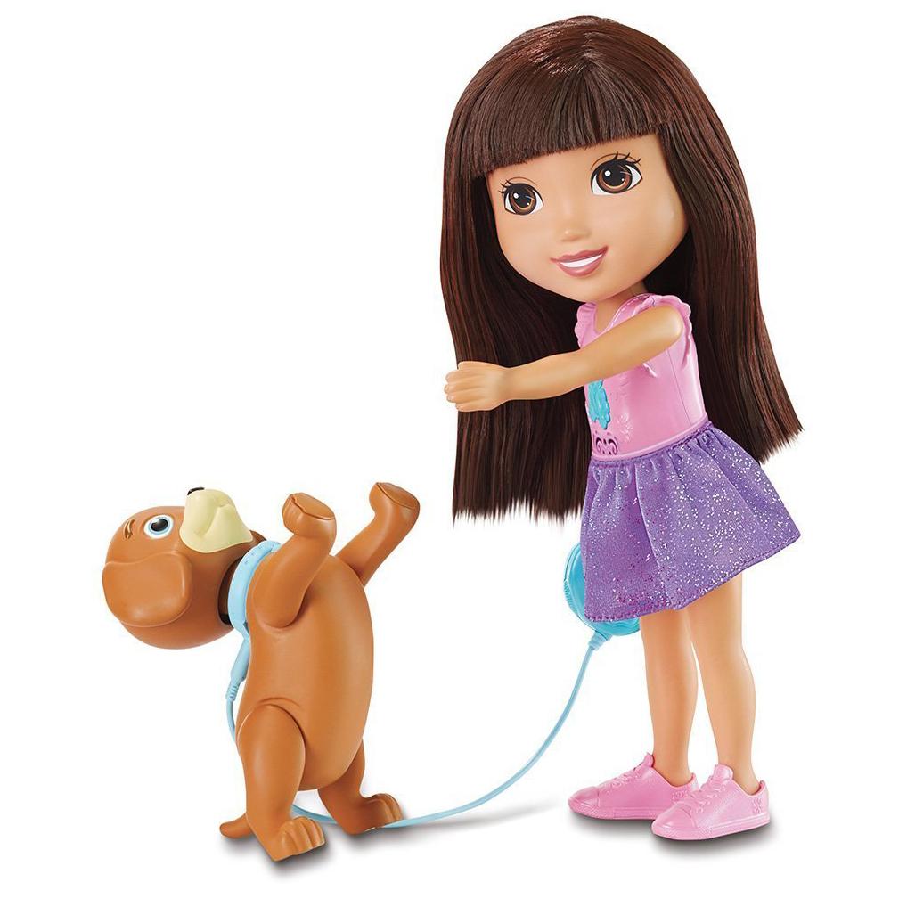 Train and Play Dora and Perrito