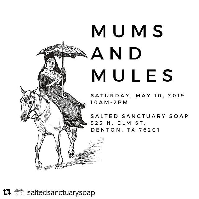 Get your fresh, locally grown flower fix on Saturday @saltedsanctuarysoap. Grab an arrangement for your mama, your grad, or yourself.  #bloomntx #denton #texas #texascutflowers #northtexas #mothersday #freshflowers #localflowers #localblooms