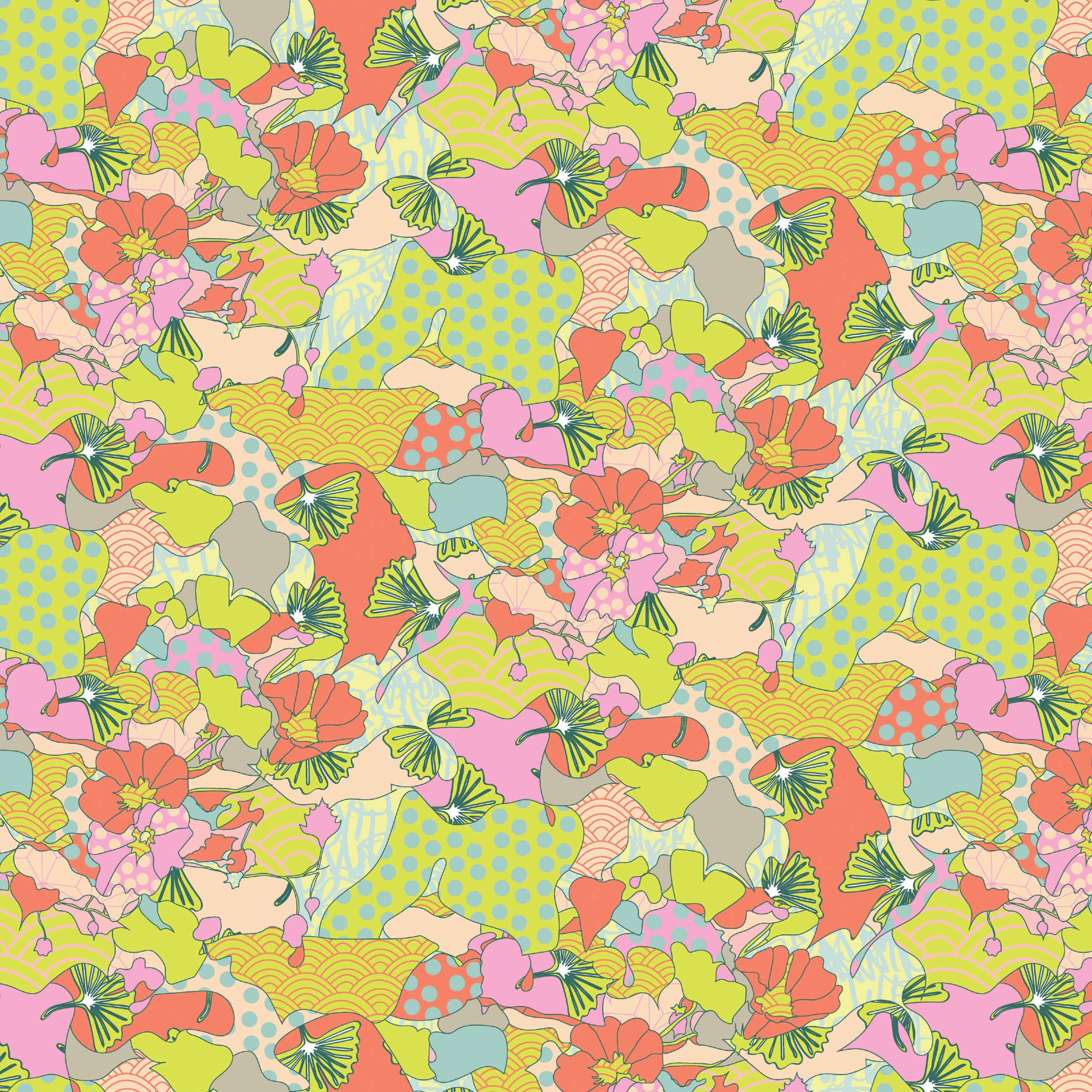 Maxamamilism soul | Digitally drawn patterns in patterns.