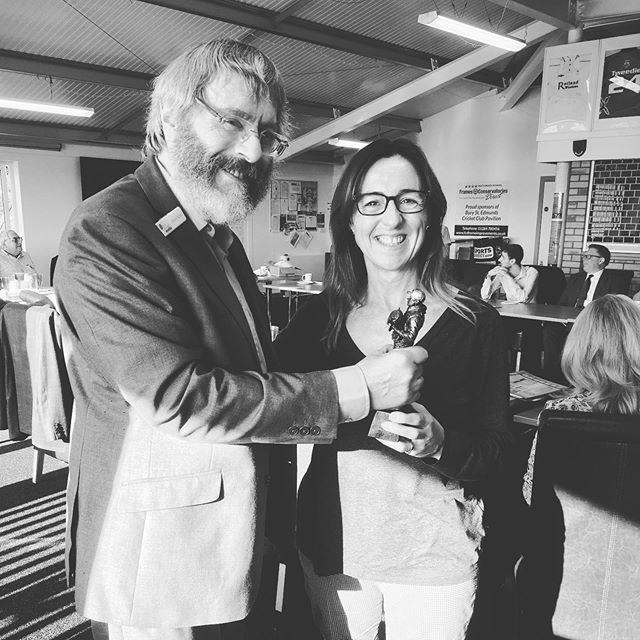 This week's worthy winner of the prestigious 60 seconds trophy is Rachel Ward from @wardtrademarks 🏆