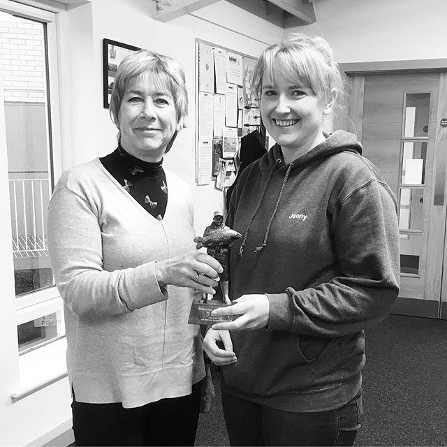 Winner of the 60 seconds trophy this week 🏆 is Jenny from @burystedmundsvet Well done Jenny for your second win!