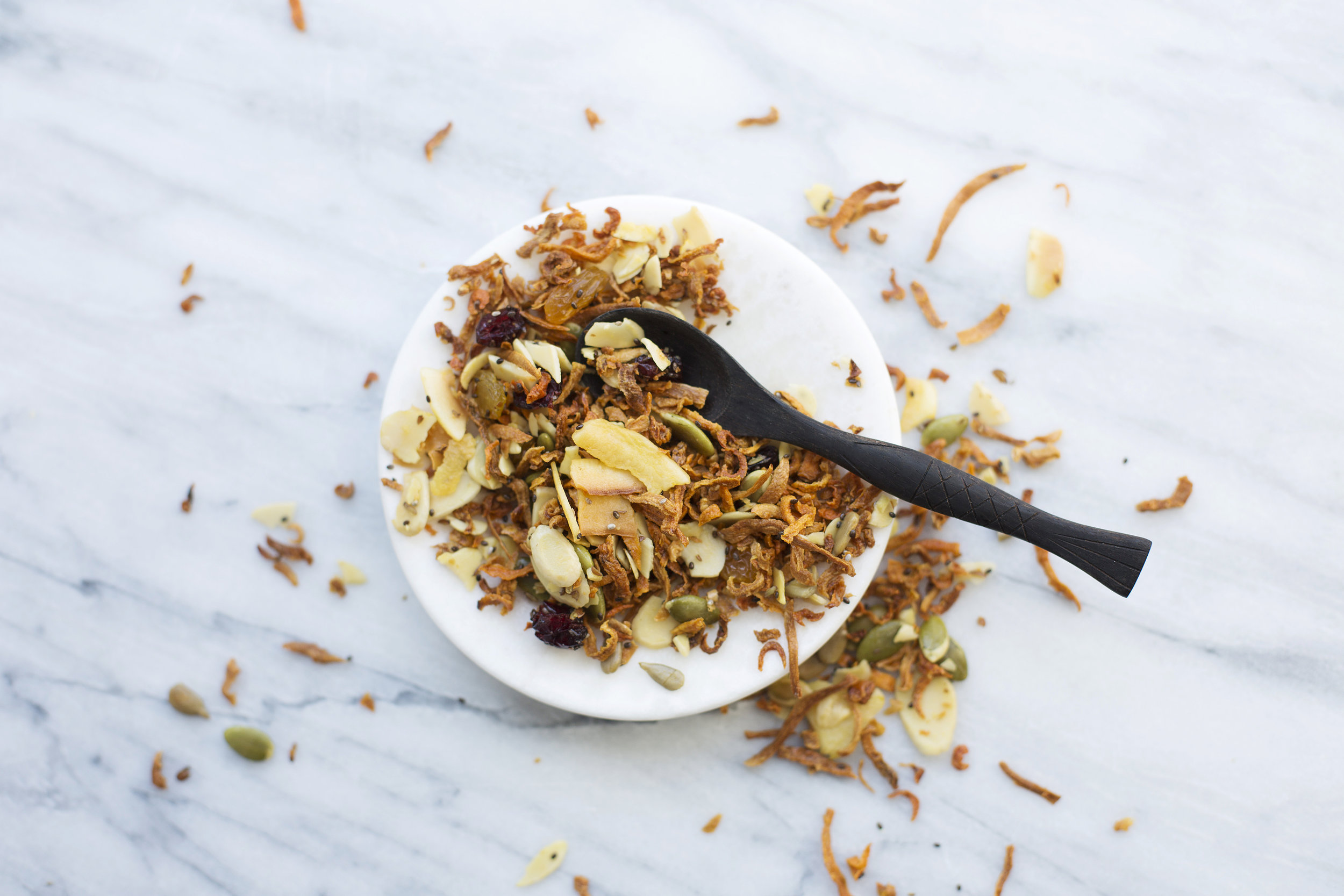 ROOTS AND SEEDS - A VEGETABLE GRANOLA