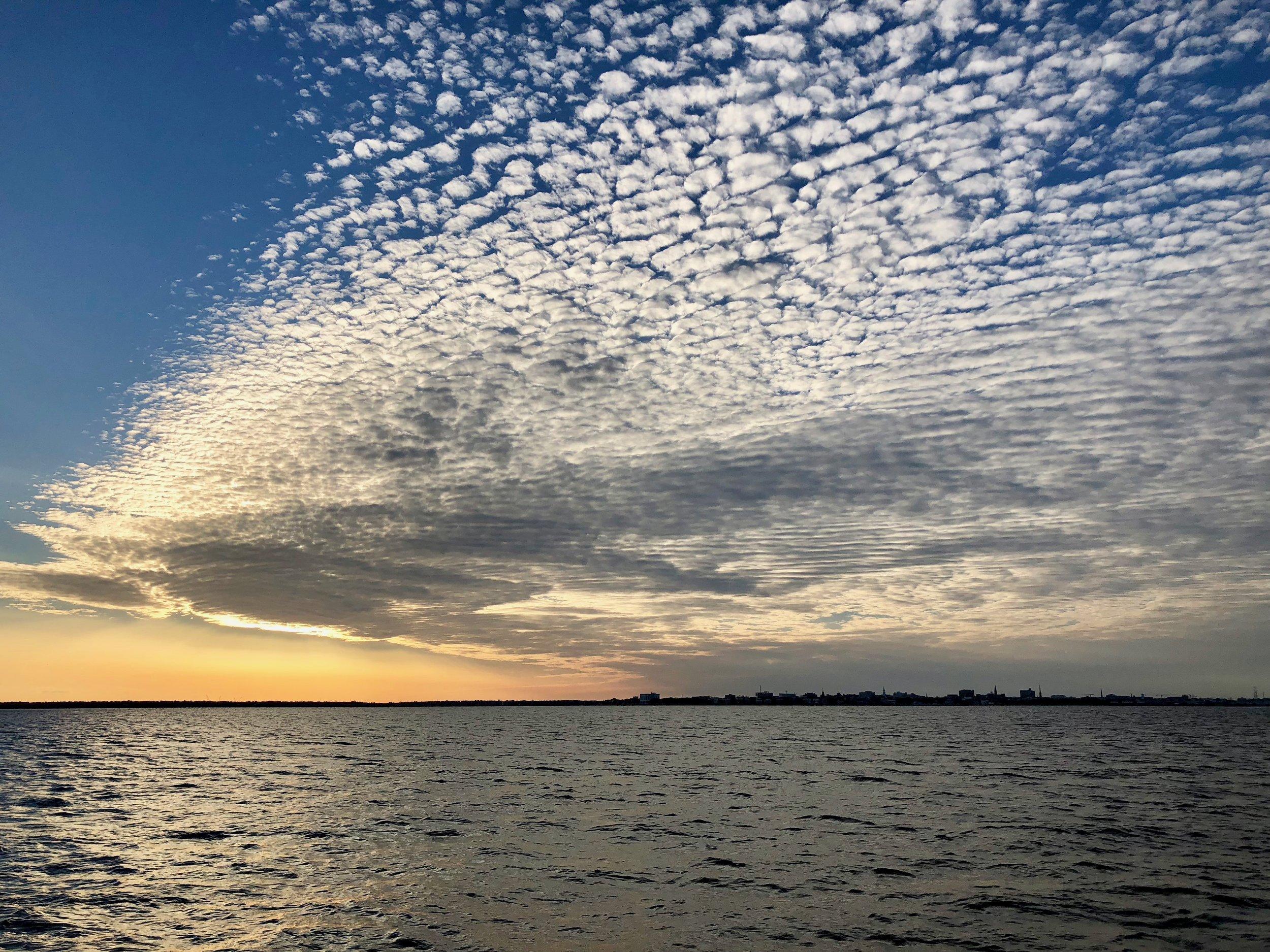 Charleston Harbor from The Schooner Pride