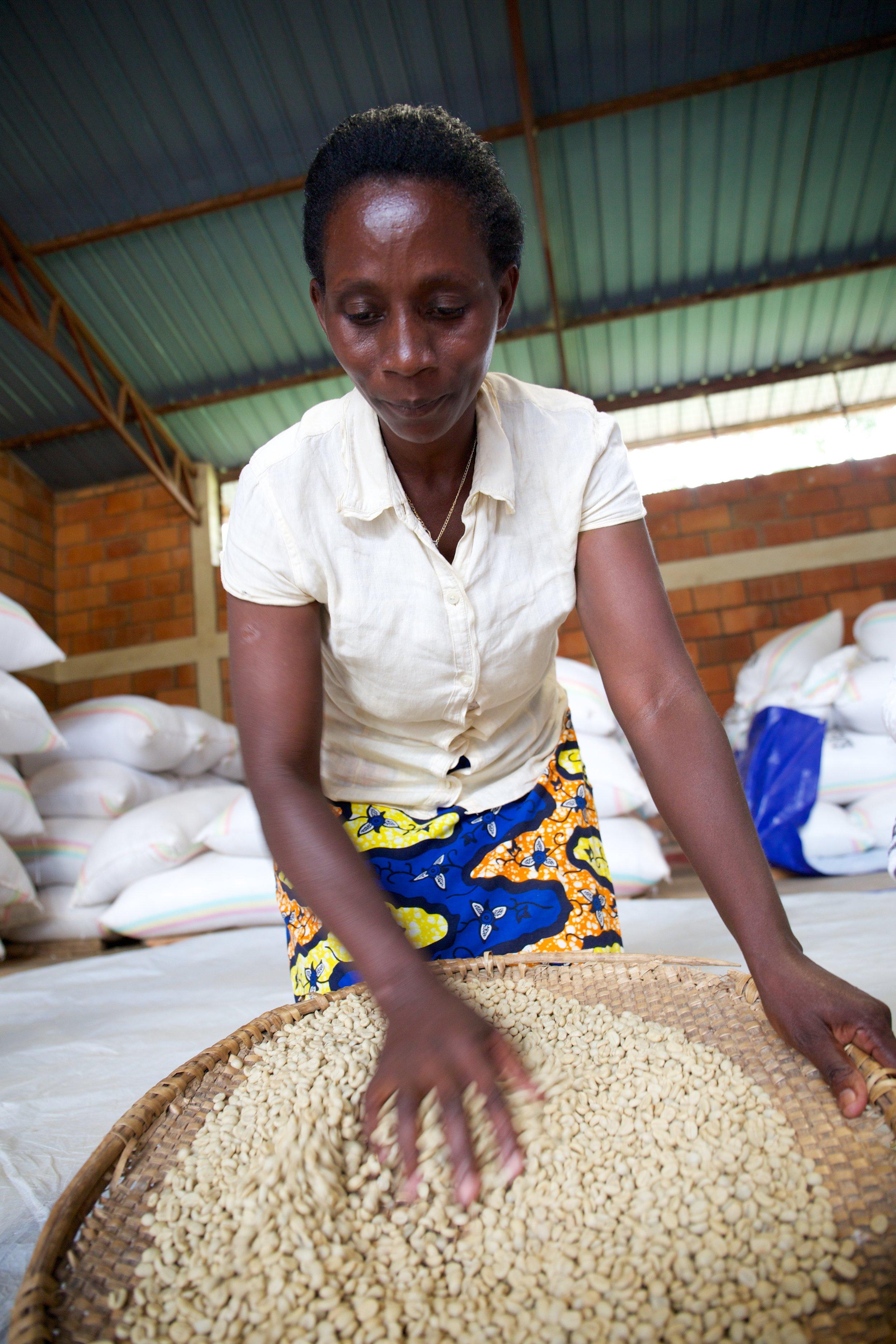 Hinga Kawa Abakundakawa co-op, Rwanda
