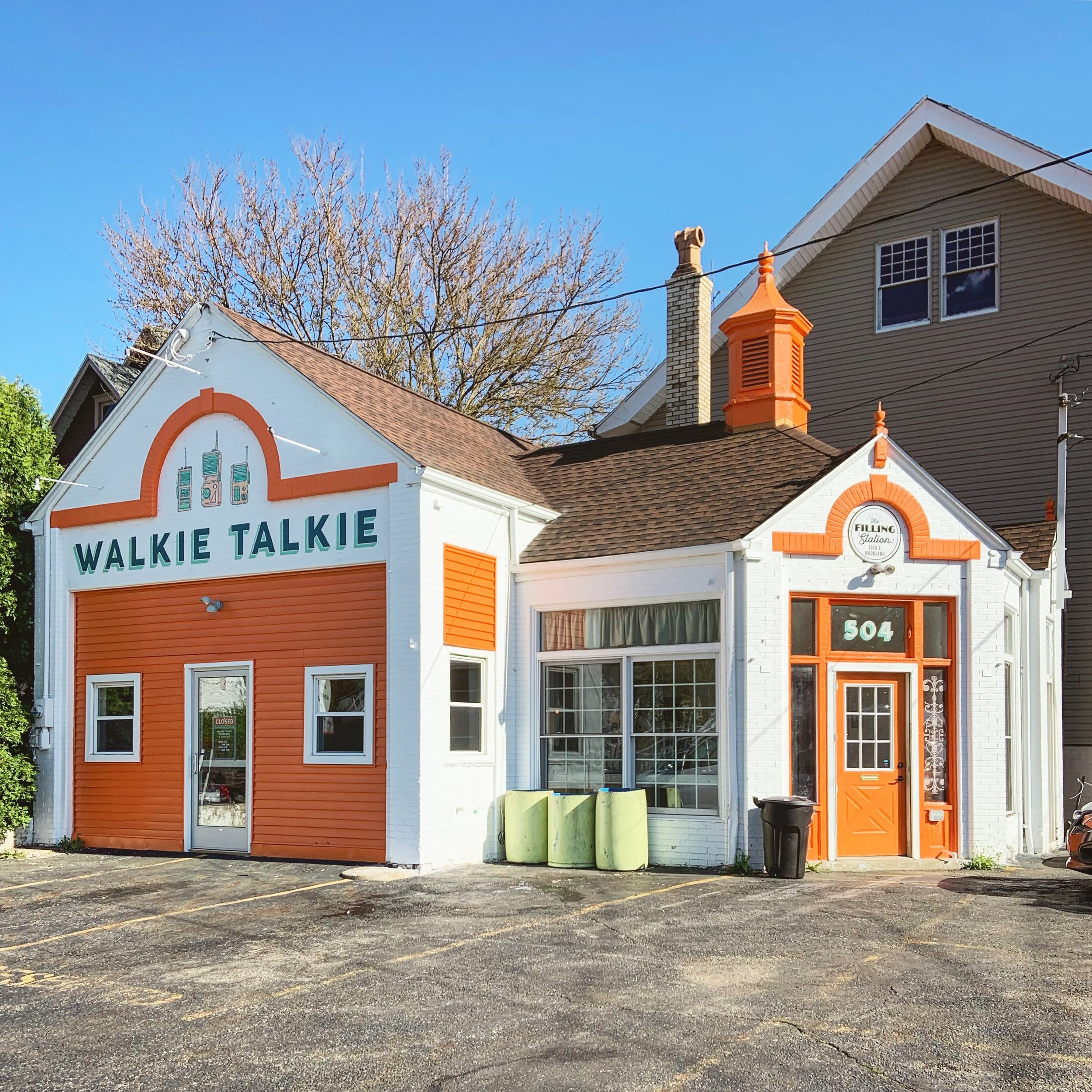 The Walkie Talkie coffee shop in Canton, Ohio, has transformed an old automotive space.