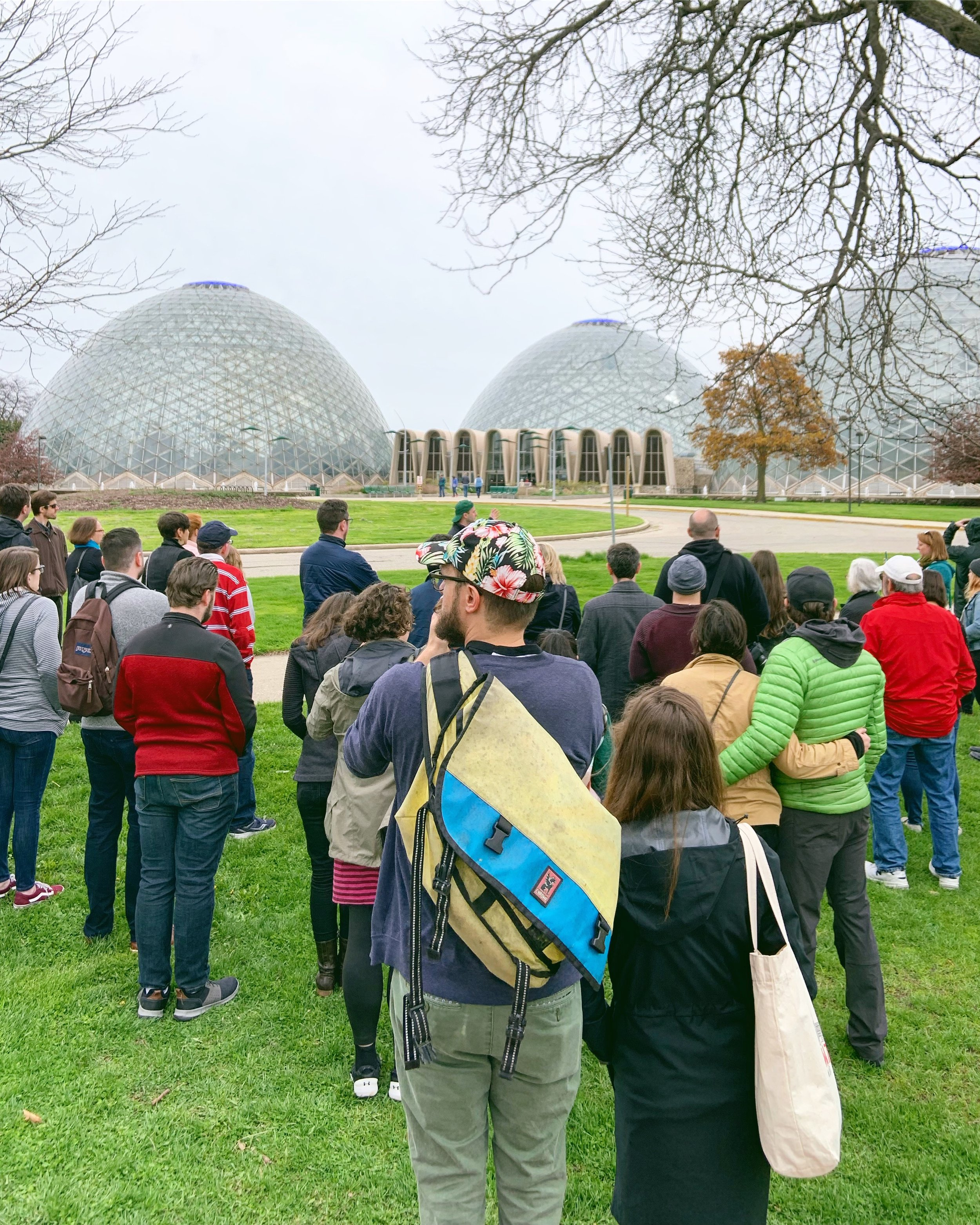 The National Trust for Historic Preservation has partnered with the Milwaukee Preservation Alliance to save the Mitchell Park Domes #saveourdomes