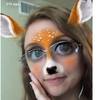 Snapchat kills your battery. Even when it makes you look like a baby deer.