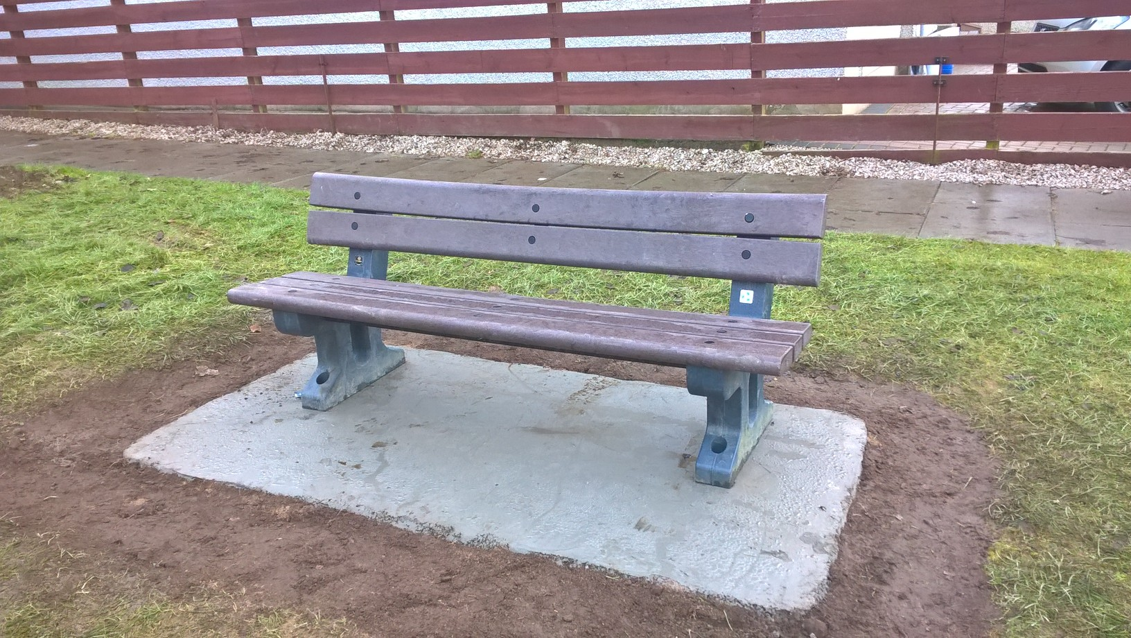 Bench installation, Inverurie