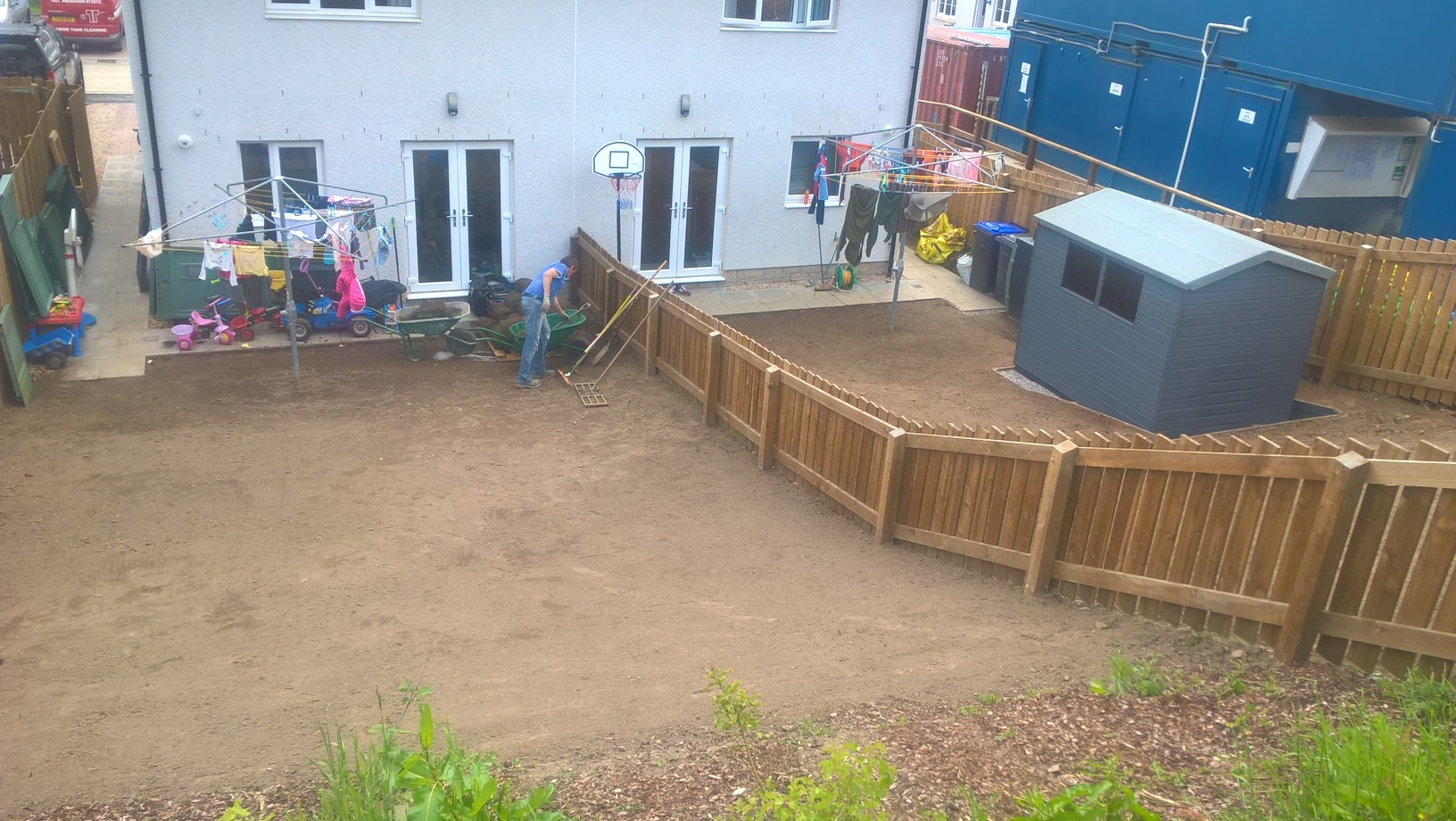Turfing, before