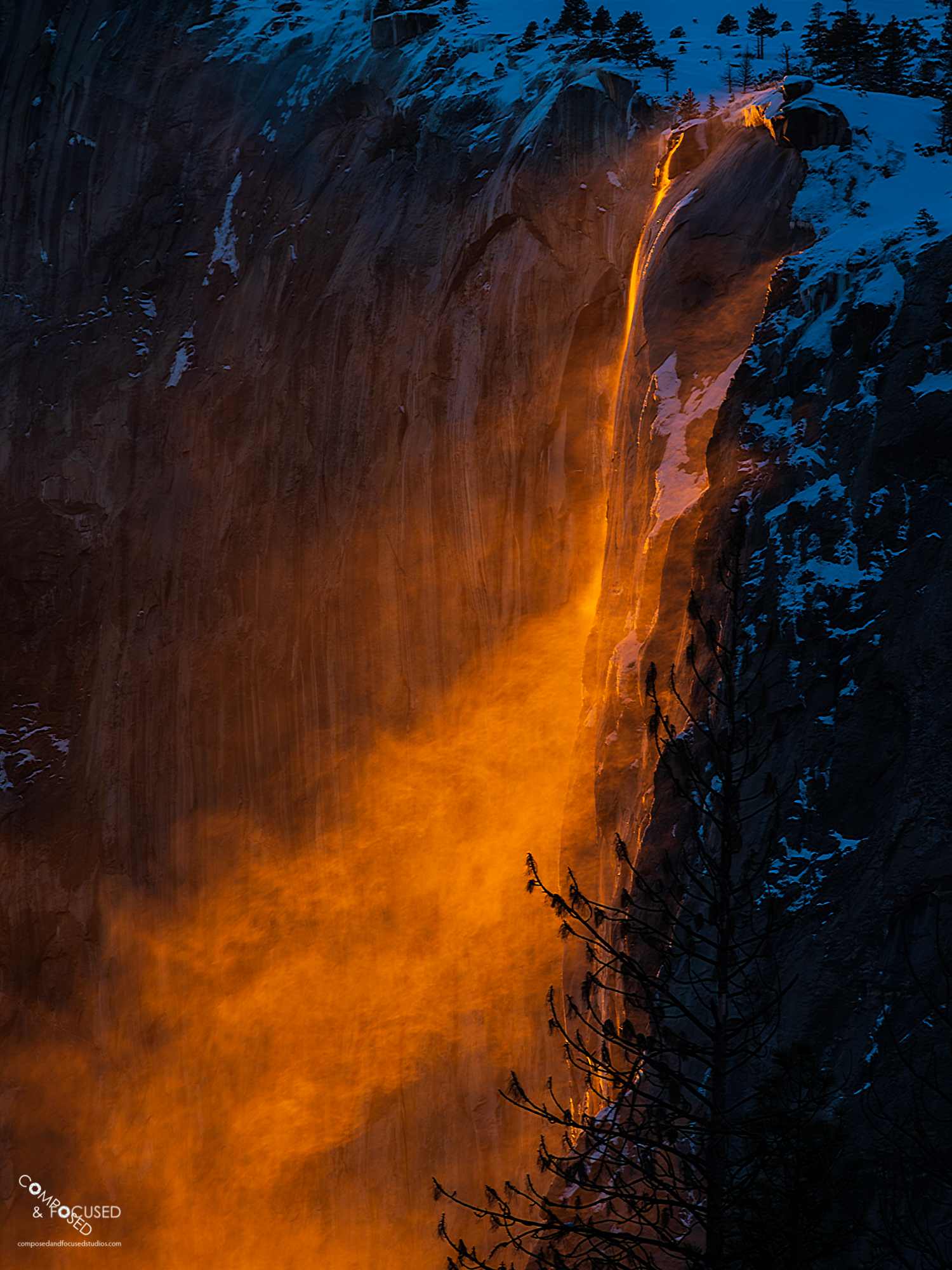 "Gusty Firefall, February 2019 - PetapixelI wrote about my experience observing and photographing Yosemite National Park's Horsetail Falls during ""Firefall"". Surprisingly, Petapixel decided it was worth sharing at their own site here: https://petapixel.com/2019/03/09/my-experience-shooting-the-yosemite-horsetail-firefall/"