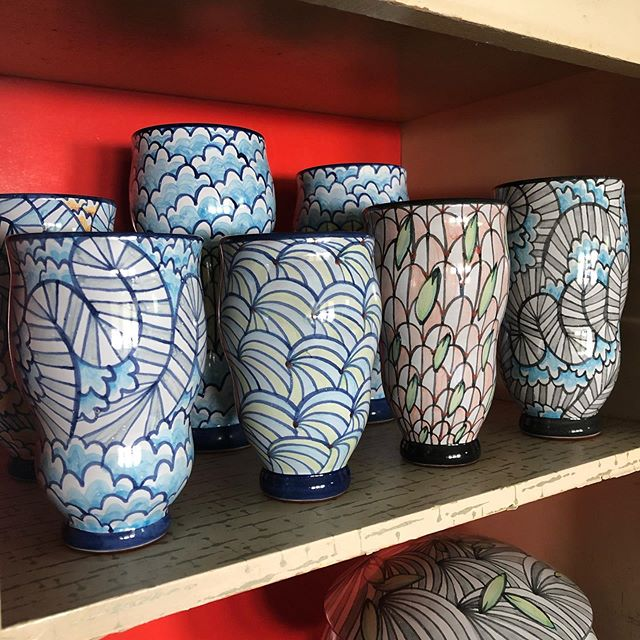 Art for the Cash Poor this Saturday, June 1st 12pm-6pm @ 1006 Buttonwood St. behind Union Transfer. Kickoff party tonight! Benefit InLiquid + AIDS Fund Philly- Thursday, May 30, 6pm-9pm @location215 @inliquidart  #majolica #ceramics #pottery #AFTCP2019 #inliquidart #inliquid #art #phillyart #location215 #springarts