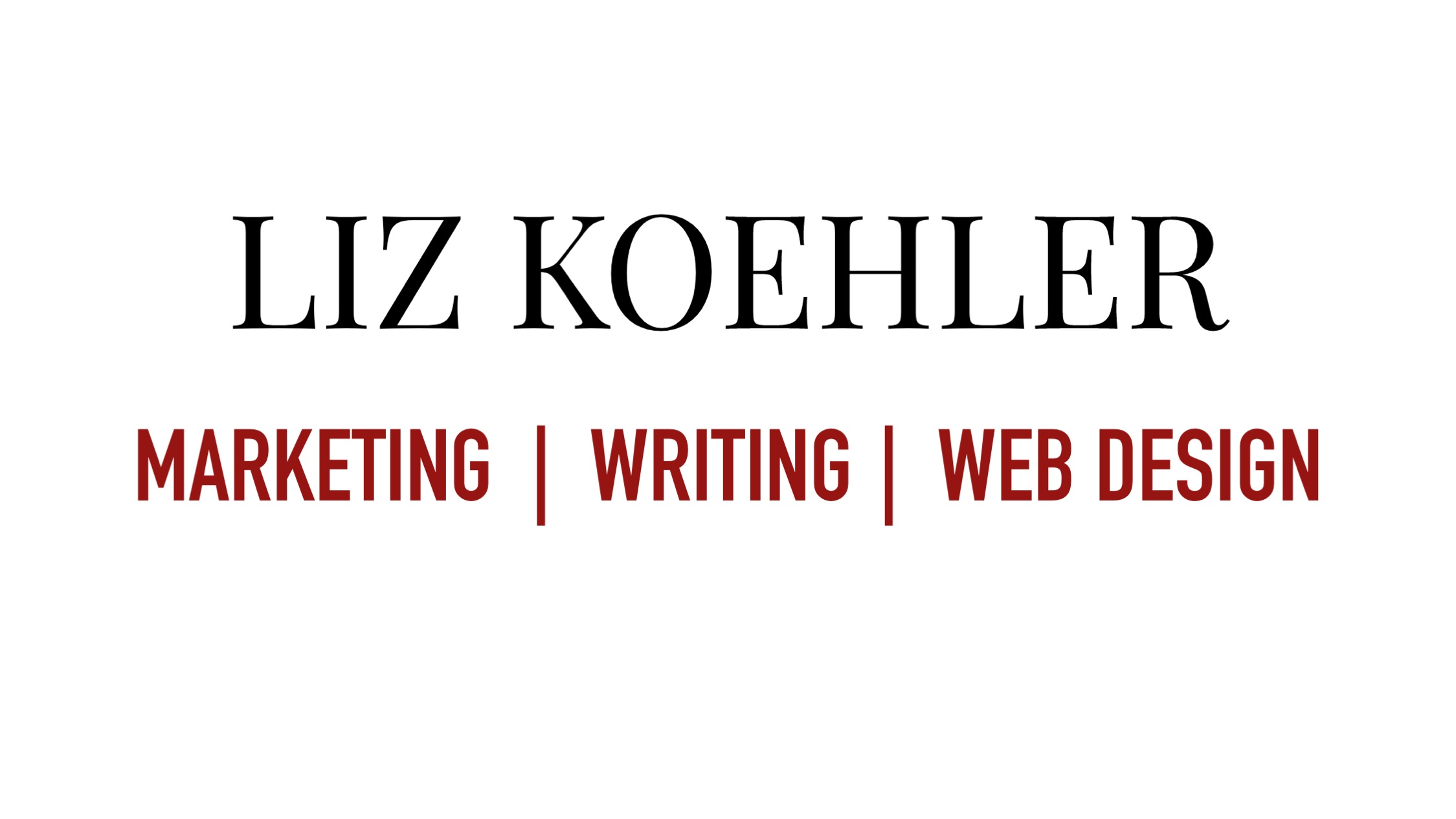 Web sponsor: Liz-Koehler.com