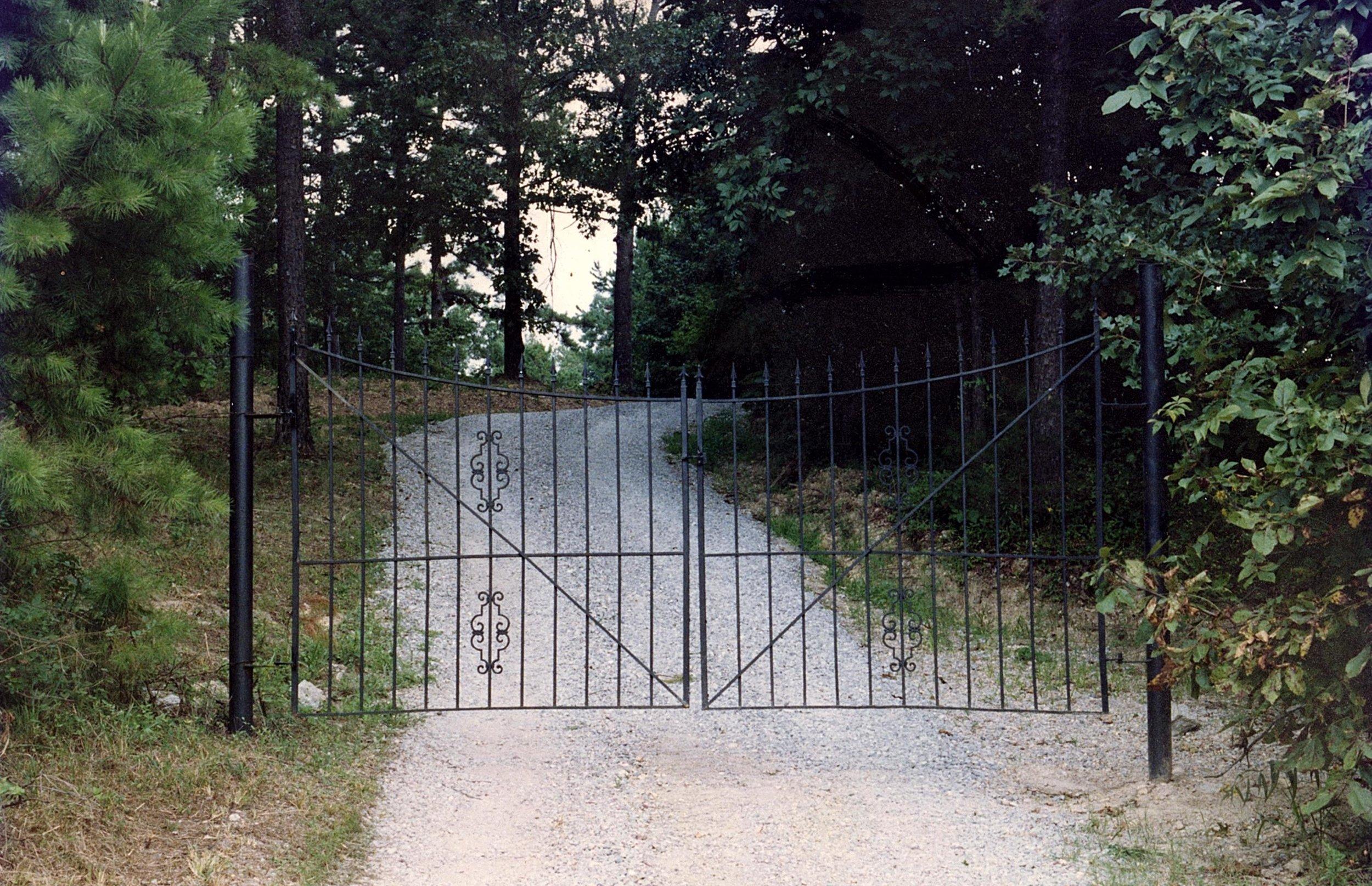 Pet Haven Cemetery Gates