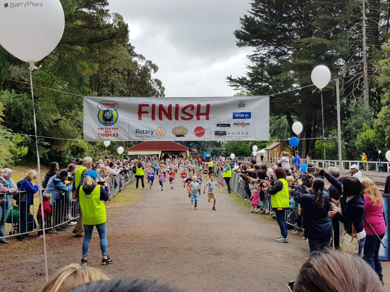 kids fun run with thomas 2018