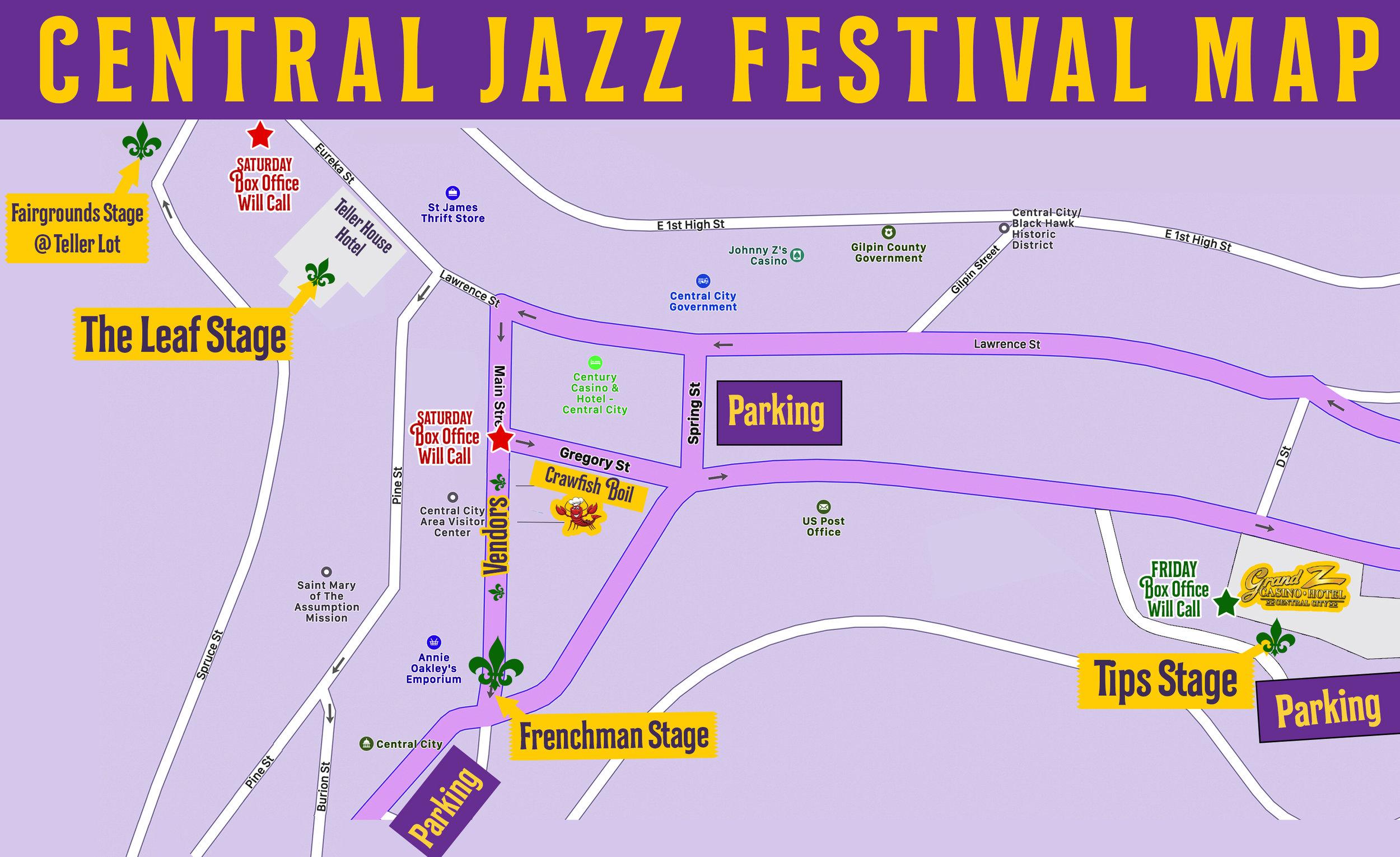 The Schedule Central Jazz