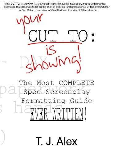 Excellent formatting guide... - T J Alex knows his stuff and is able to logically explain how to format a screenplay and how he came to the conclusions he came to. The book seems to be very up to date regarding Hollywood formatting standards.But beware; sometimes you have to make up your own mind about how exactly you should format certain things in your script. Research it, look it up in other formatting books or ask professionals if you're not sure.