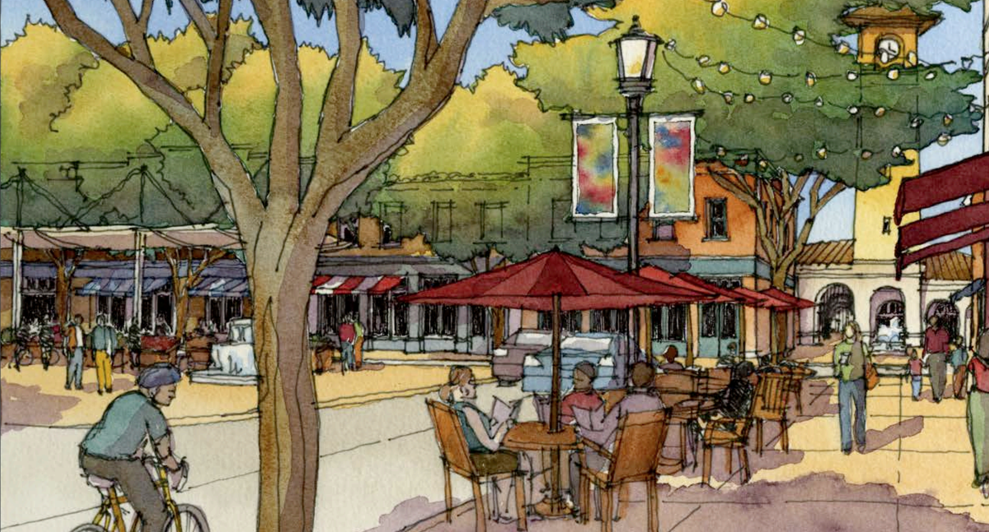 Read more about the Modesto Downtown Master Plan, including notes and presentation from the Kickoff Downtown Walking Tour and Visioning Workshop (July 22, 2019)  here .