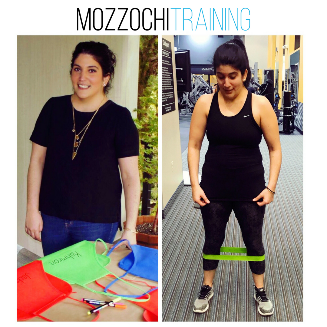 """KATY H.   I can't recommend Mandy highly enough.I've always struggled with feeling good in my body. Coming from a family of """"naturally skinny"""" females, it was hard to always be on the larger side- not over weight per say, but just larger. Over the years, I tried many different things, had many excuses and dealing with the aftermath of surviving breast cancer didn't help either. I felt exhausted, like giving up, from """"diet"""" plans to other trainers, no one """"got me"""" the way Mandy did. Meeting Mandy completely changed my way of thinking, about myself, about the food I put in my body and about the woman I want my 5 year old daughter to look up to. Not only did she listen to me as a client but she truly cared as a friend. I started working out with Mandy almost a year ago and when I  finally  decided to actually  listen  to her the way she listened to me, I immediately saw results. I'm happy to say, I'm down 20 lbs.I am so excited to see what the future holds with Mandy by my side"""