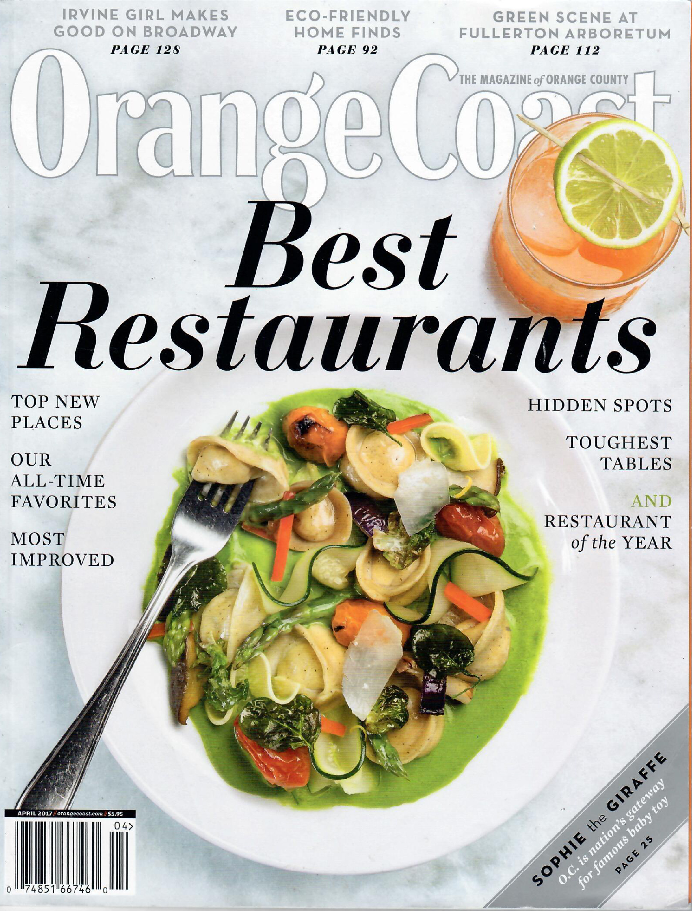 Orange Coast - BEST RESTAURANTS