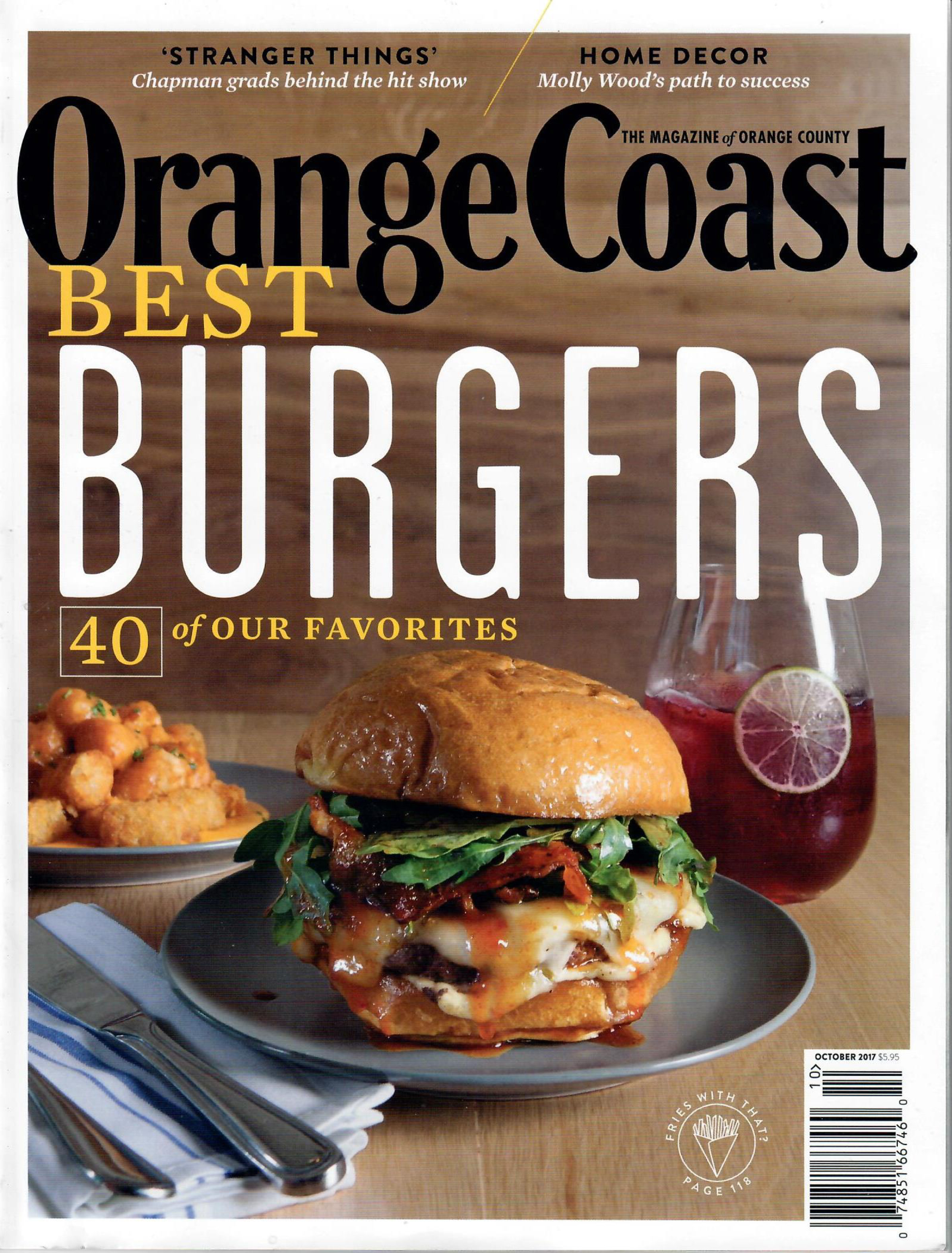 Orange Coast - BEST BURGERS